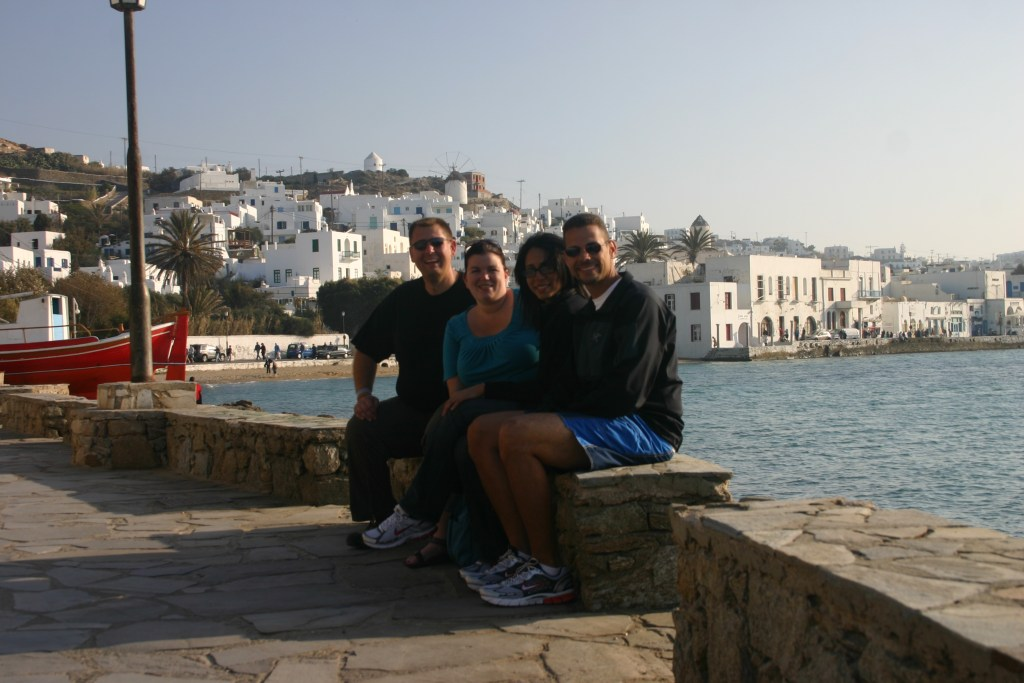Mykonos with Juan and Alina