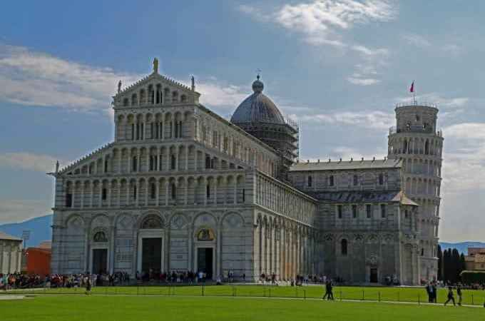 Bucket list visit to the Leaning Tower of Pisa