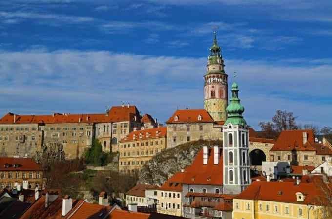 Exploring Cesky Krumlov, Czech Republic