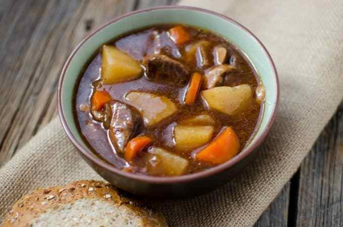 Slow Cooker Crock Pot Guinness Stew Recipe
