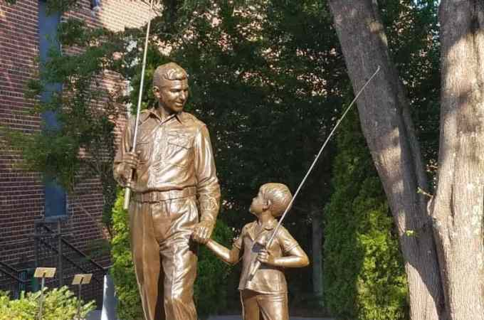 Visit Mayberry Mt Airy North Carolina and step into the life of Andy Griffith