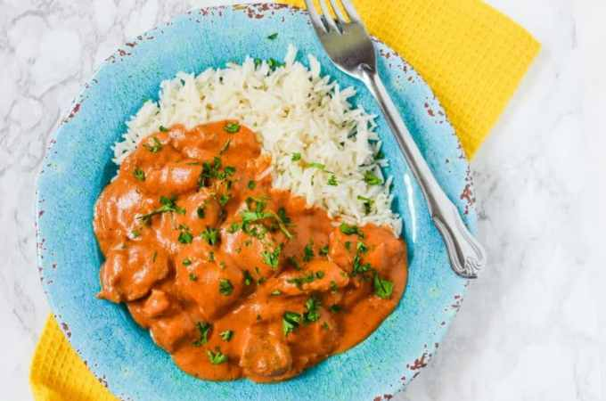 Crock Pot Slow Cooker Chicken Tikka Masala Recipe