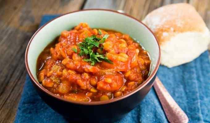 Crock Pot Slow Cooker Lentil Soup Recipe