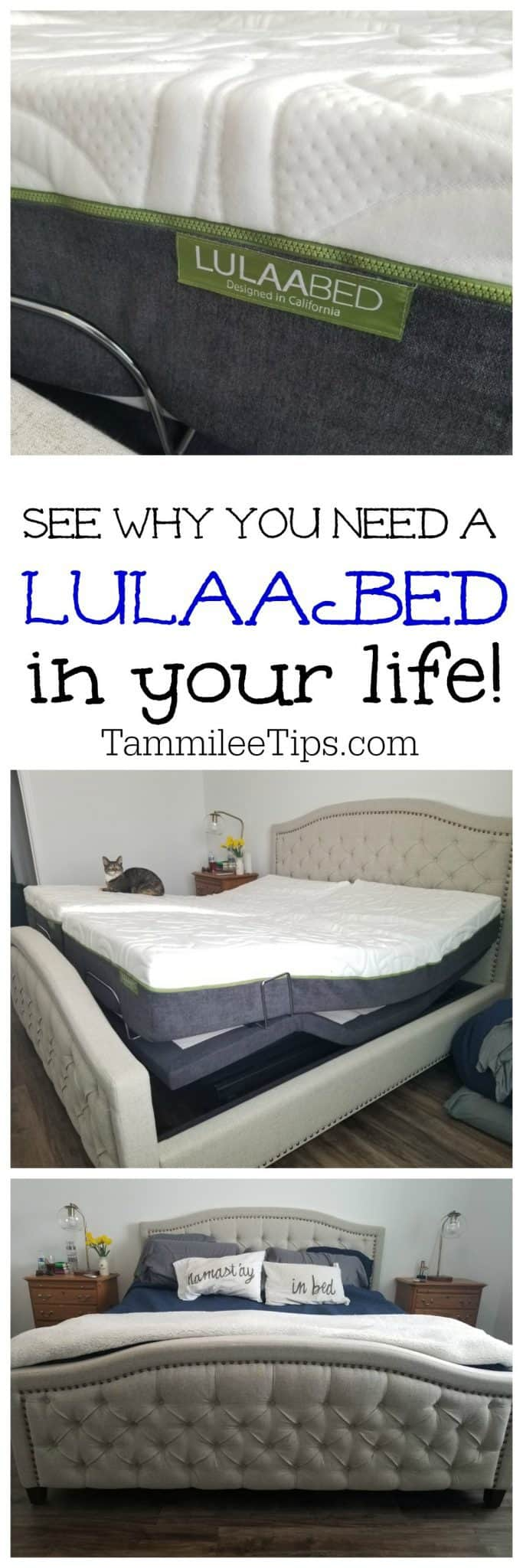See why you need a LulaaBED from Sam's Club in your life! Fully adjustable mattress, remote control, massage and more! #ad #lulaaBED