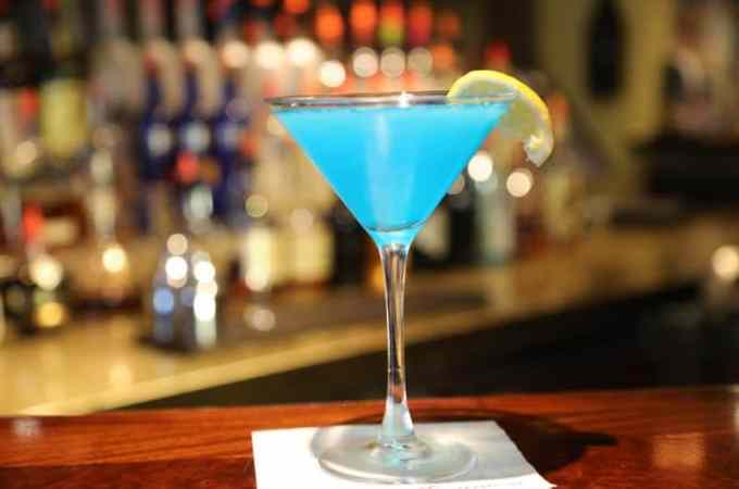 Sea Blue Martini Recipe