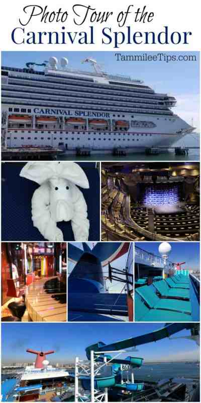 Photo tour of the Carnival Cruise Splendor! Including dining, bars, casino, lido deck and more! #Carnival #cruise #travel