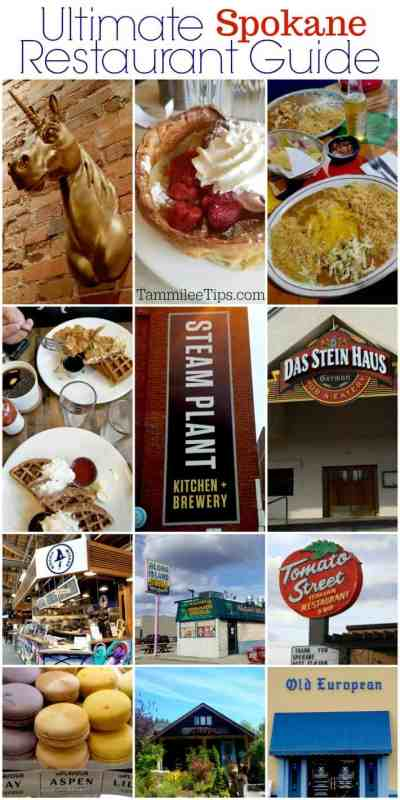 Ultimate Spokane Restaurants Guide Tammilee Tips