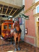 Grand Rapids Public Museum Horse and streets of Grand Rapids