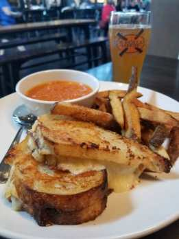 Knickerbocker New Holland Brewing Grand Rapids Grilled Cheese and Tomato Soup
