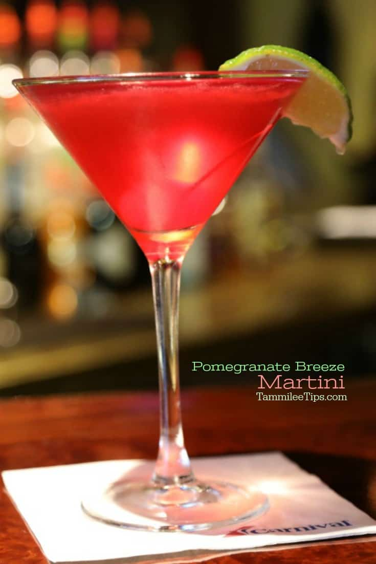 Delicious Pomegranate Breeze Martini Recipe that is so easy to make! Great for Valentine's Day, Christmas, Holiday Parties or date night at home. This cocktail is super easy to make and tastes amazing.