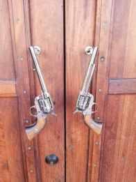 Horse Heaven Saloon Gun Door Handles