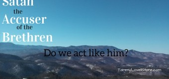 Satan: The Accuser of the Brethren. Do We Act Like Him?