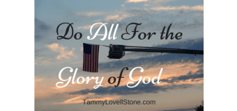 Glorify God in all You Do