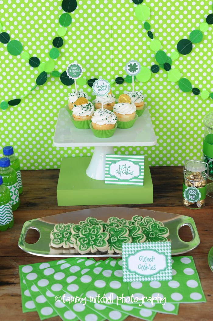 st. patrick's day party, party food ideas, favor ideas