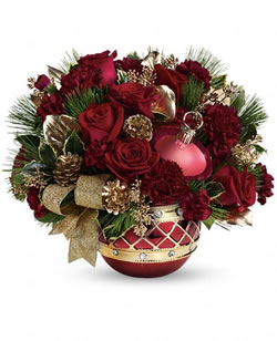 Jeweled Ornament Bouquet from Tammys Floral