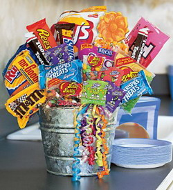 Junk Food Bucket from Tammys Floral