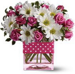 Polka Dots & Posies from Tammys Floral