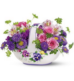 Sweet Pansy Basket from Tammys Floral
