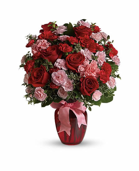 Dance with Me Bouquet with Red Roses-TEV12-5A