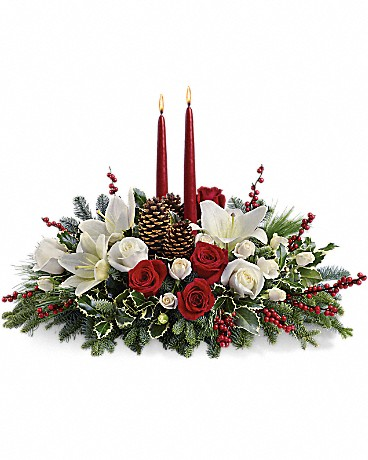Christmas Wishes Centerpiece - T127-1C