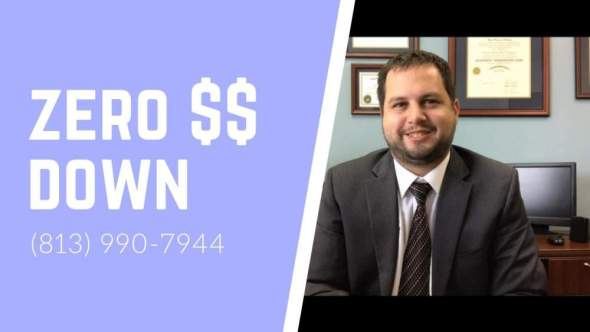 zero money down bankruptcy attorney
