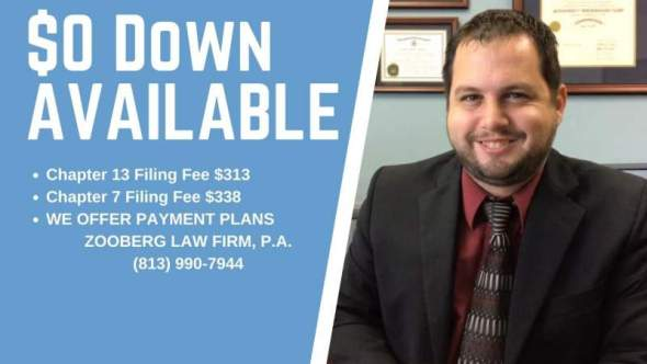 Tampa Bankruptcy Attorney Fees And Costs File For Bankruptcy
