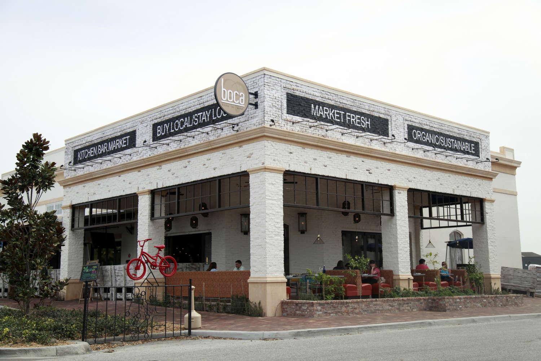 Boca restaurant building