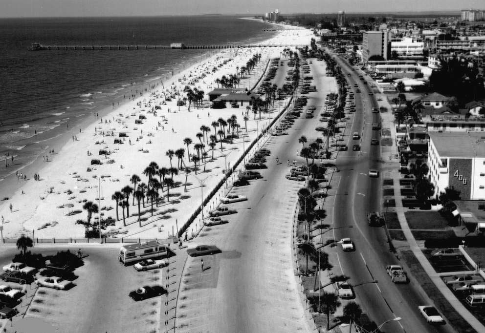 How Has Clearwater Beach Evolved Over The Past Century Florida Wonders Explores Tampa Bay Times