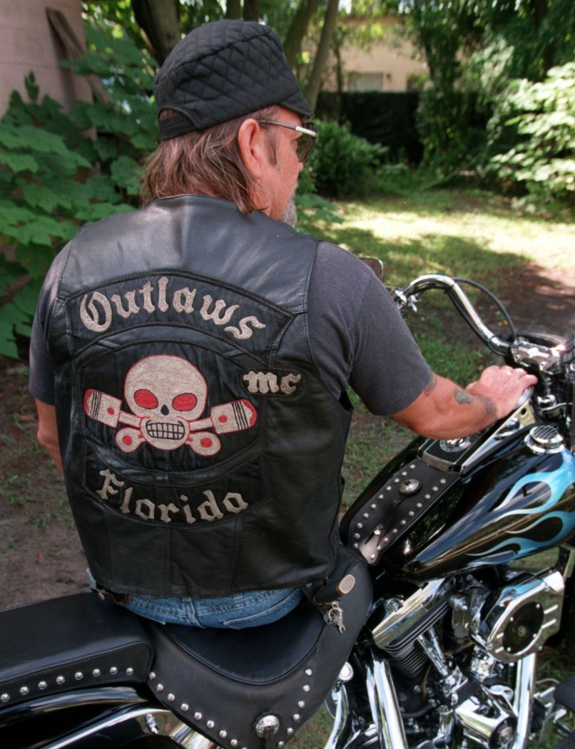 An Outlaws Motorcycle Club Leader S