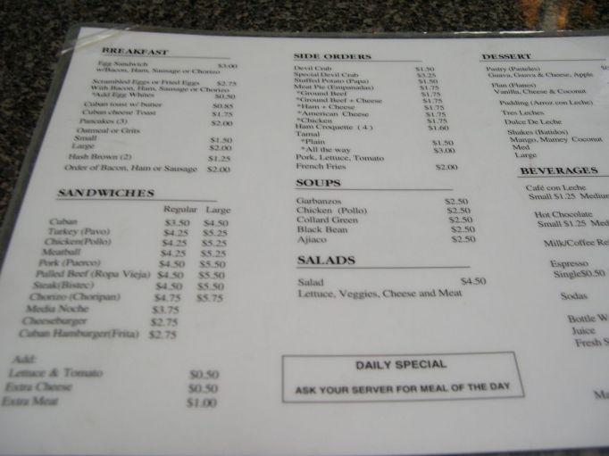 aguila-menu