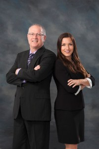 Bill Robertson and Elisha Robertson