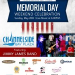 Light Up Tampa Bay for Memorial Day: Celebrate Memorial Day Weekend with live music at Channelside Bay Plaza