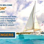 "New Sailing Yacht ""Heron"" can accommodate 30 passengers"