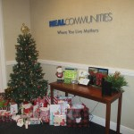 Neal Communities collects holiday gifts for local nonprofit