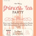 2nd Annual Princess Tea Party