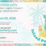 """Humane Society of Tampa Bay Brings the Tropics to Bayshore Boulevard with """"Island Paws"""" on April 20th"""