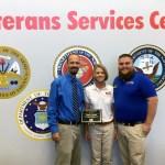 Team member from Goodwill Manasota's veterans' program honored