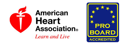 American Heart and Pro-Board Logo