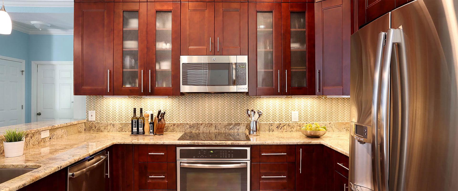 kitchen cabinets | granite countertops | remodeling | tampa fl