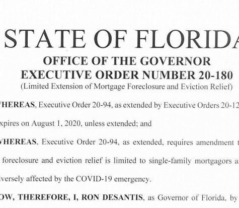 eviction order desantis moratorium