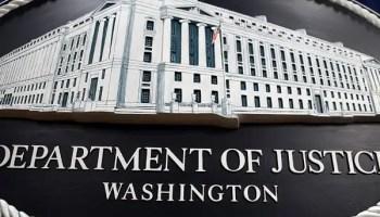 the department of justice DOJ