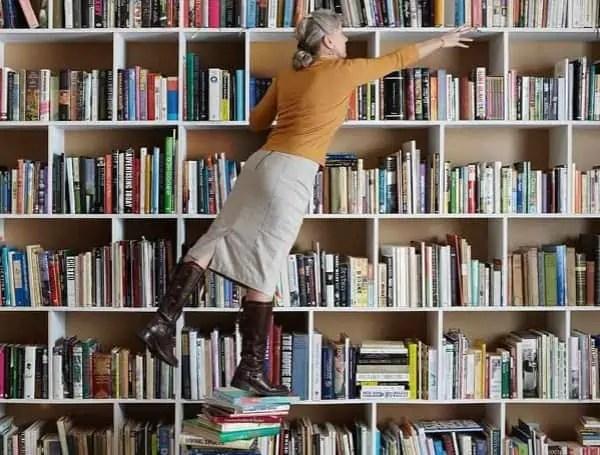 library opening books teacher