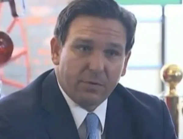"DeSantis on Friday once again called the claims made by Jones a conspiracy theory and said ""obviously, she's got issues."""