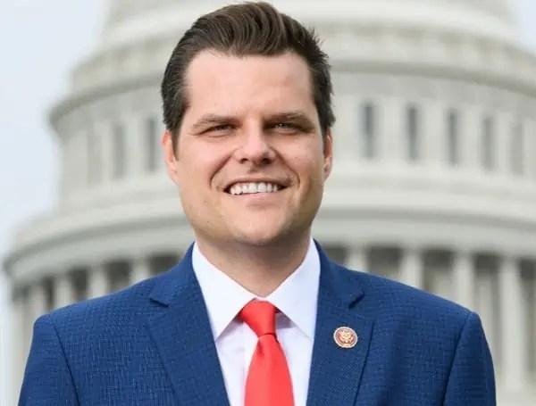 Florida Congressman Matt Gaetz