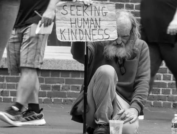 homeless tampa