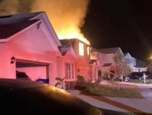 Lakeland House Explosion Fire