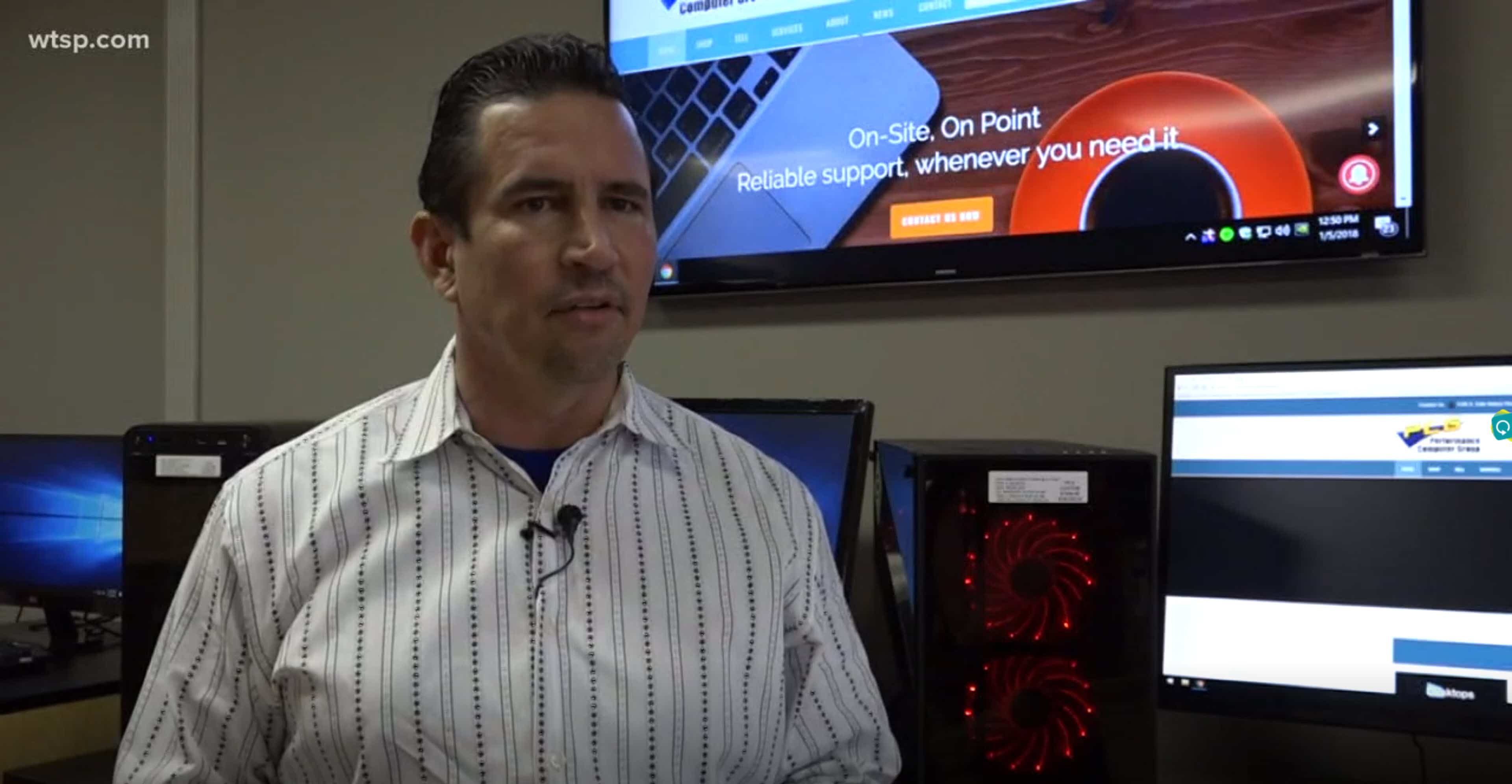 Computer security was never more important! This video at our South Tampa store explains.
