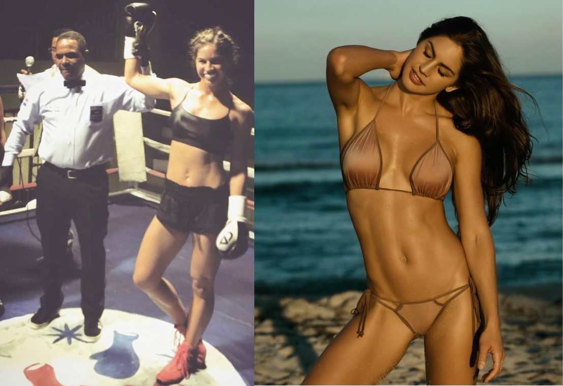 World Renowned Swimsuit Model Turned Pro Boxer Avril -4410