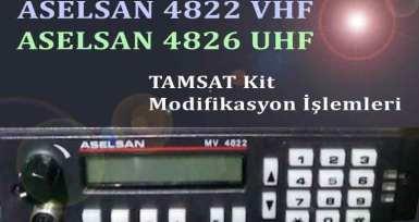 ASELSAN 4800 TAMSAT Kit Uygulama İçin Önemli Uyarı