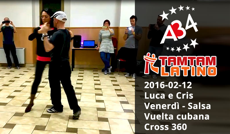 2016-02-12 Luca e Cris, Salsa, Vuelta + cross 360 (video)
